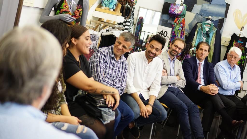 Testimonios de jóvenes y tutores en la reunión de Patronato